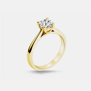 MacKenzie Diamond Solitaire Engagement Ring - Naledi - Yellow Gold