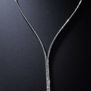 Platinum Born Magnetic Adjustable Platinum Necklace and Bracelet