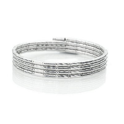 Platinum Born - Magnetic Adjustable Platinum Necklace & Bracelet