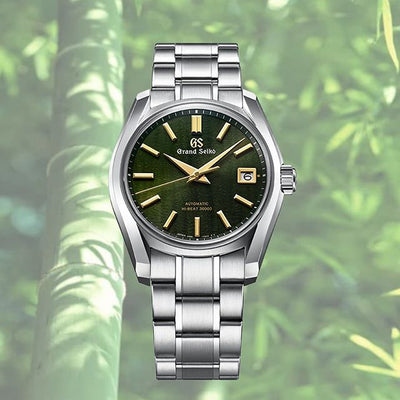 Grand Seiko Elegance SBGH271 U.S. Summer Edition - Four Seasons (Green Dial, Steel Case)