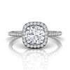 Round Brilliant Halo Engagement Ring