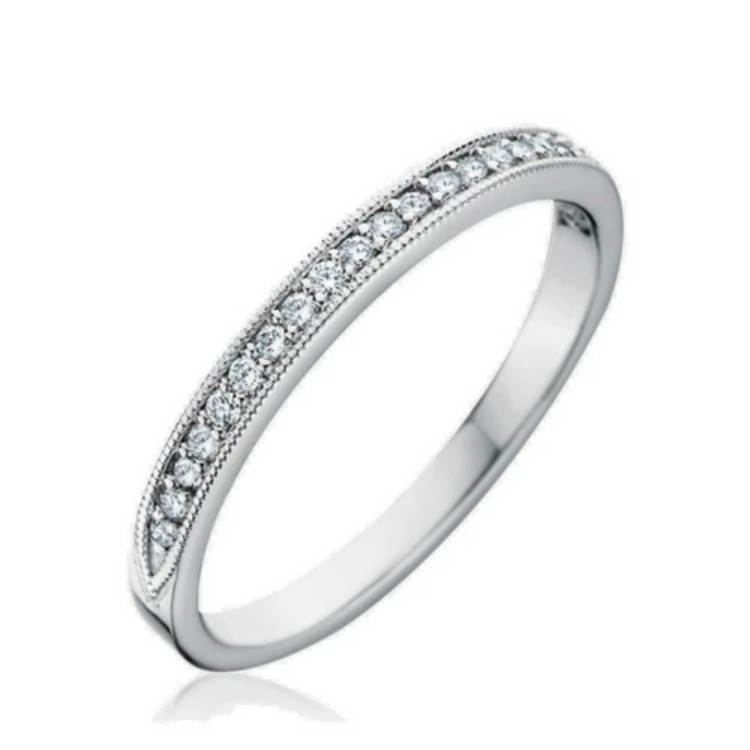 Trista Diamond Wedding Band - Naledi
