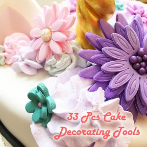 Adorned™ Decorating Tools Set - Perfect For Baking, Soap-Making And Clay Arts!