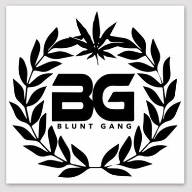 BG Crest Transparent Stickers