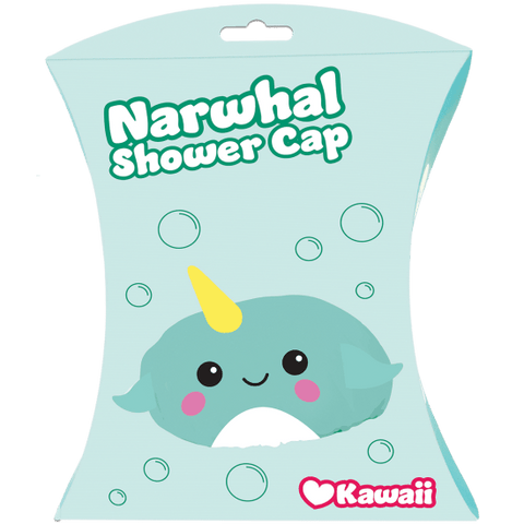 Narwhal Shower Cap