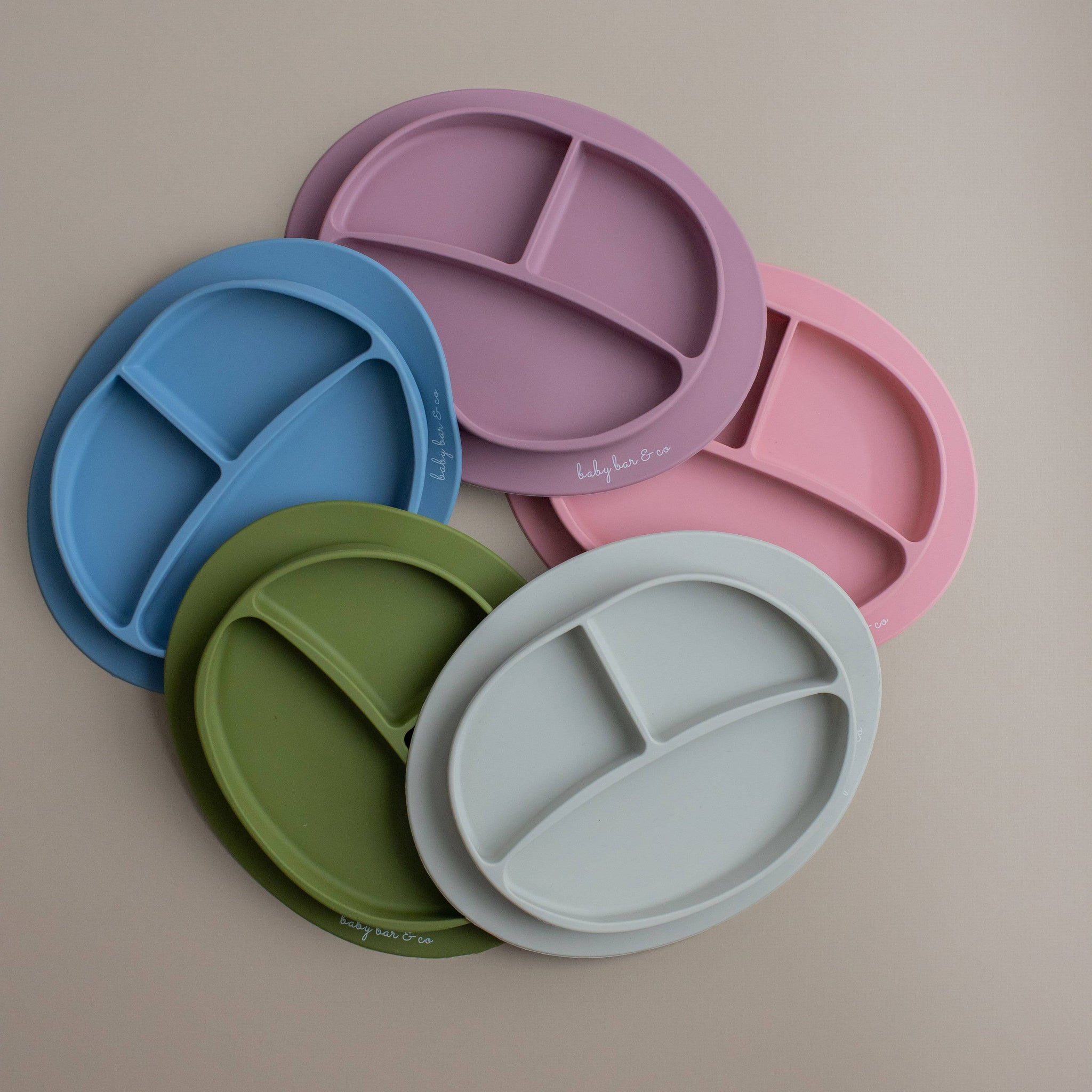 Baby Bar & Co Silicone Plates - SUCTION