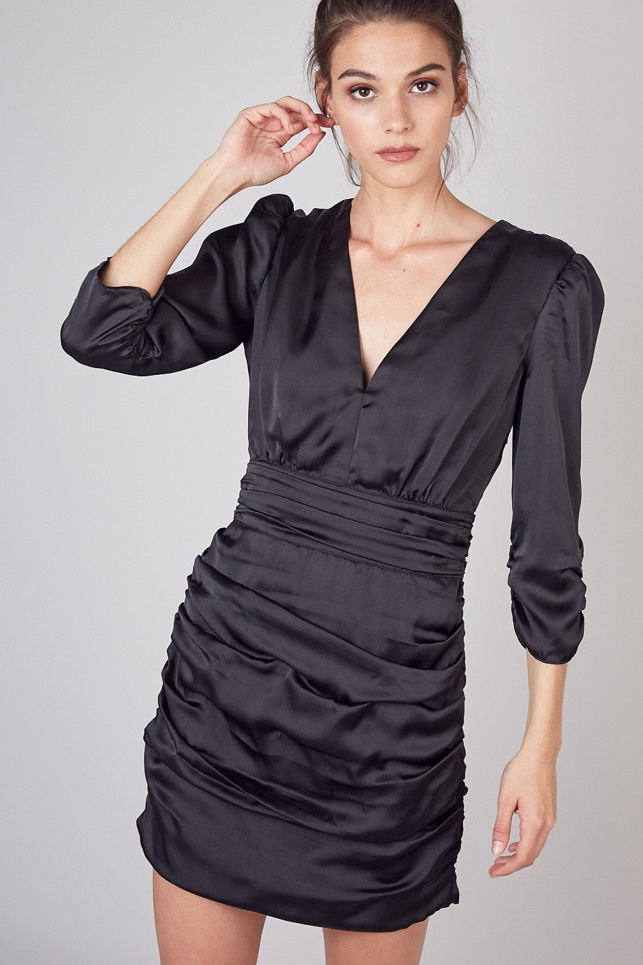 Side Tuck Dress