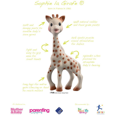Sophie la girafe in So'Pure