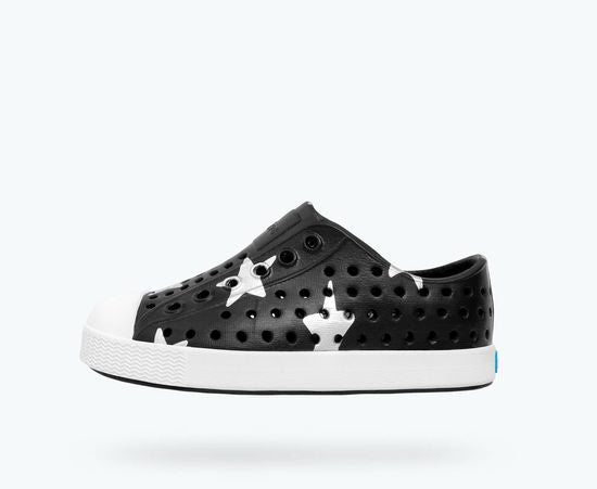 Jefferson Silver Star Print - Jiffy Black