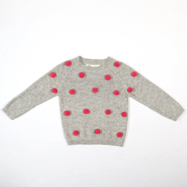 POM POM SWEATER - This Little Piggy