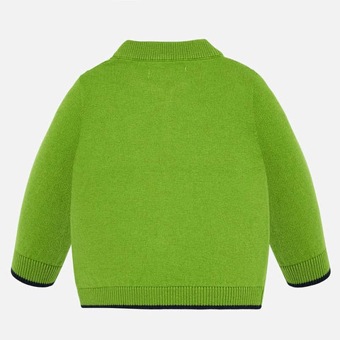 Basic Knitting Pullover - Pistachio