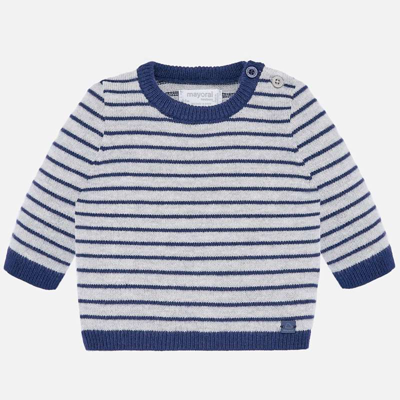 Striped Sweater - Moon Vigore