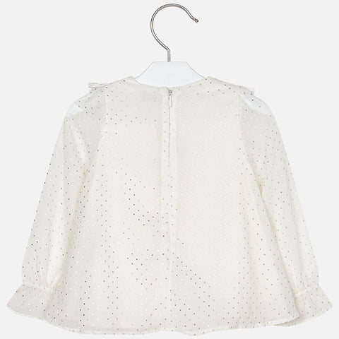Studded Blouse - Off White