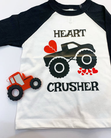 Heart Crusher Tee - This Little Piggy