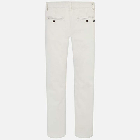 Twill Basic Trousers