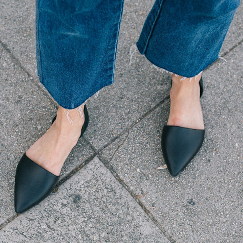 Native Audrey Velvet Shoe