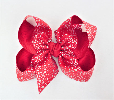 products/2_FOIL_SILVER_SWISS_DOT_RIBBON_5.5_XL_BOW_W_KNOT_ON_ALLIGATOR_CLIP--RED.jpg