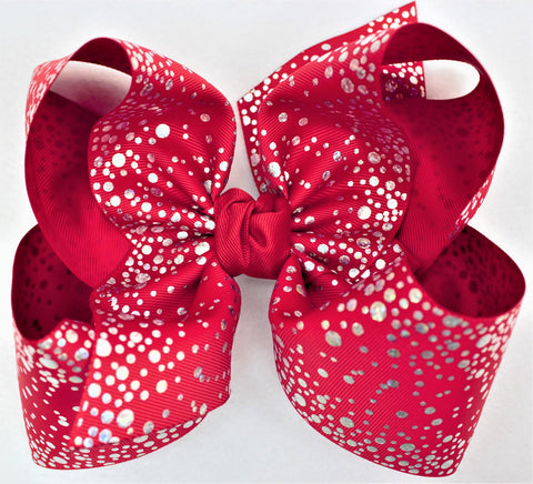 products/3_FOIL_SILVER_SWISS_DOT_RIBBON_7.5_XXXL_BOW_W_KNOT_ON_FRENCH_CLIP--RED.jpg