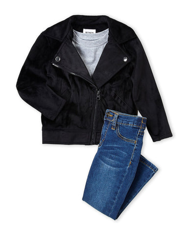 Biker Jacket Set - This Little Piggy