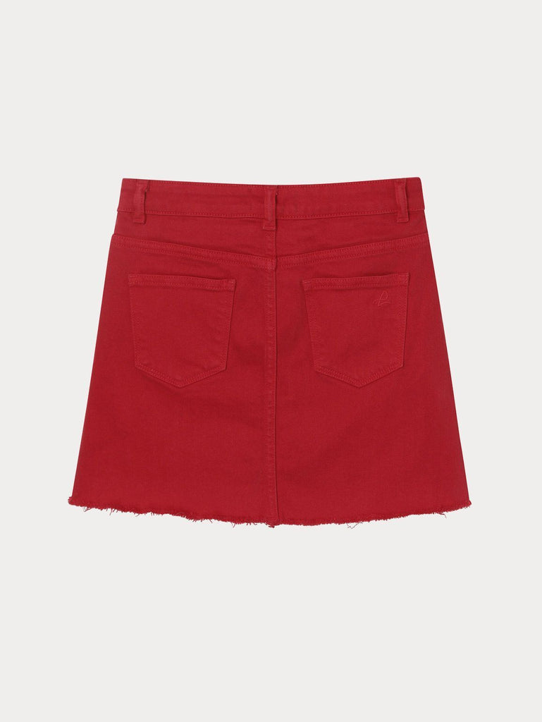 DL1961 - JENNY SKIRT/VERY CHERRY - This Little Piggy