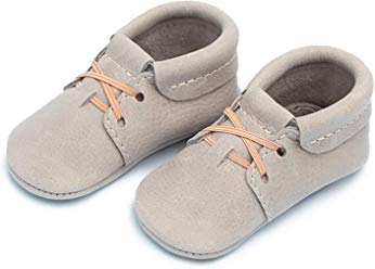 FRESHLY PICKED | MOCCASINS - GRAY OXFORD