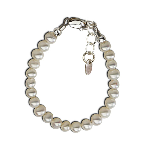 Zoey - Sterling Silver Pearl Bracelet - This Little Piggy