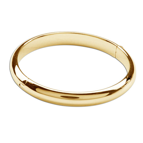 GP-Bangle (Classic) - 14K Gold Plated Baby & Kids Bracelet - This Little Piggy