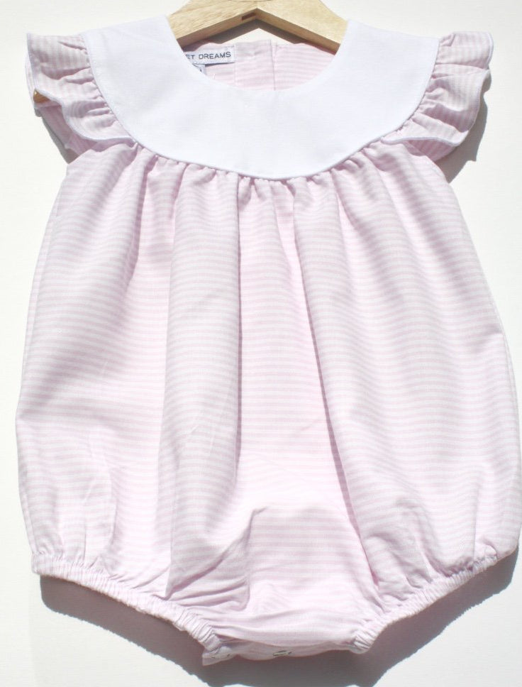 Annie Pink Stripe Bubble