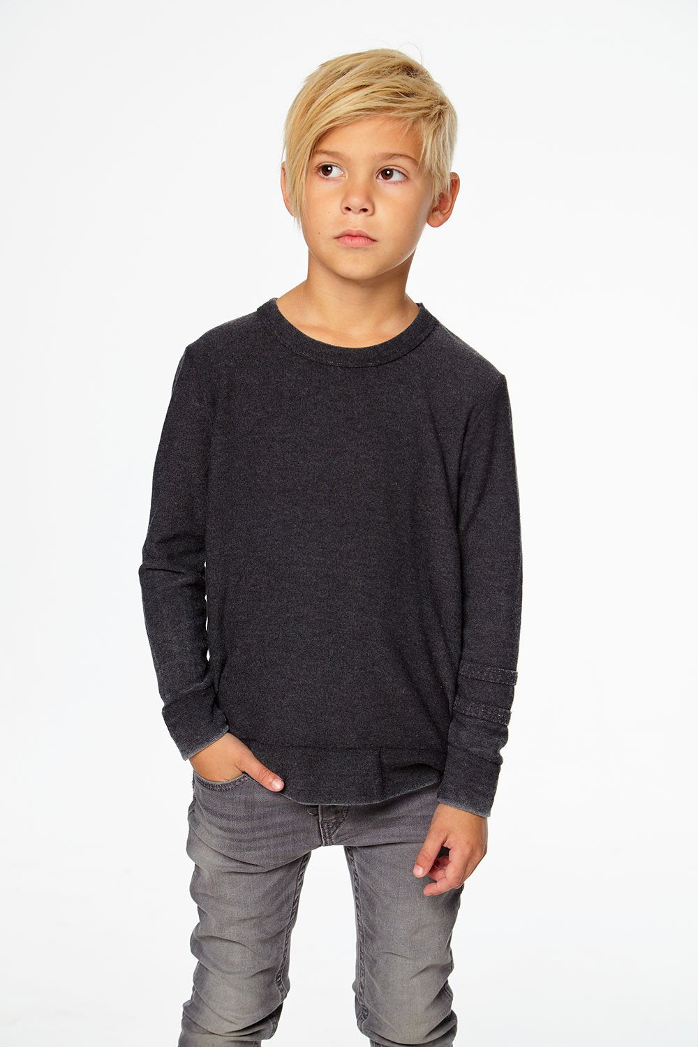 Strappings Crew Neck Pullover