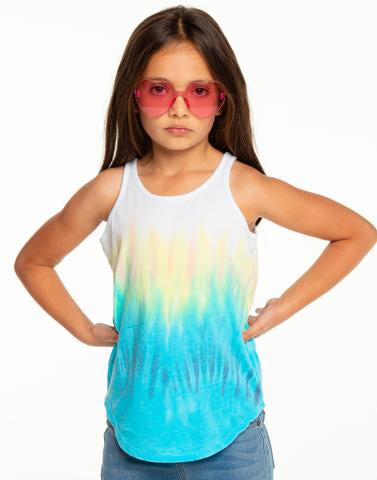 Chaser Scoop Back Tie Dye Tank