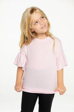 Chaser Kids - Bliss Knit Peplum Sleeve, Stardust