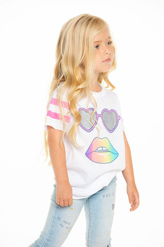Chaser Kids - Sassy Vintage Jersey Crew Neck Tee - This Little Piggy