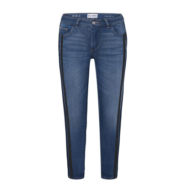 DL 1961 Girls Chloe Skinny - Moody Blue - This Little Piggy