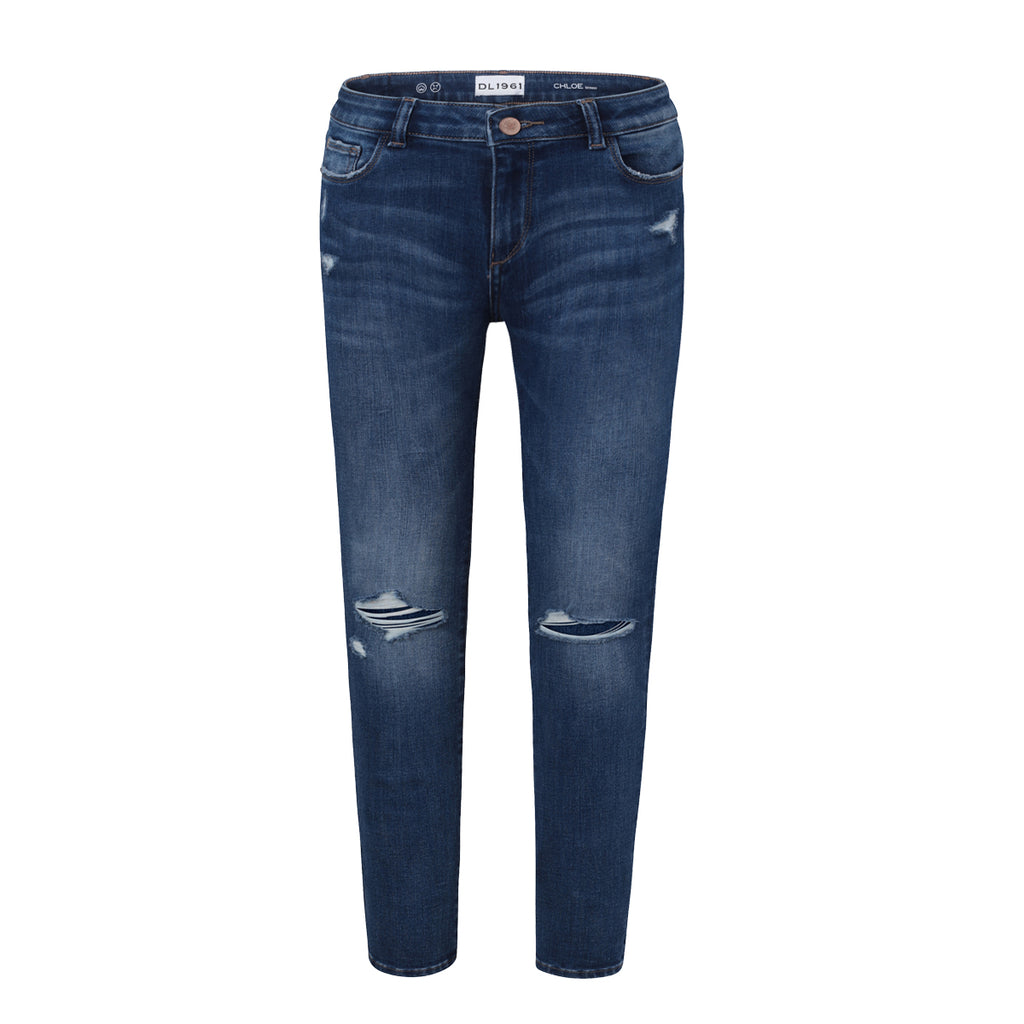 DL 1961 Chloe Toddler Girls Skinny - Royce - This Little Piggy