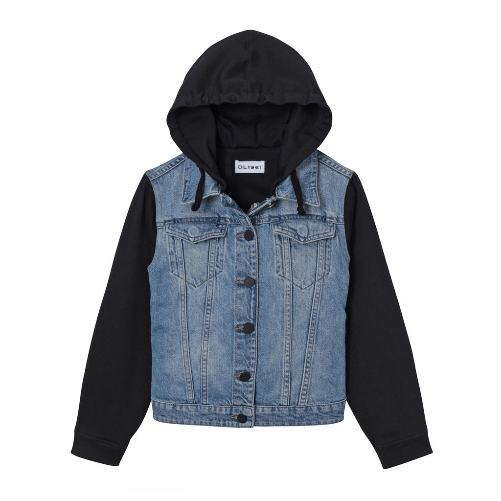 DL1961 Kids -  Manning Toddler Jacket - Woke - This Little Piggy
