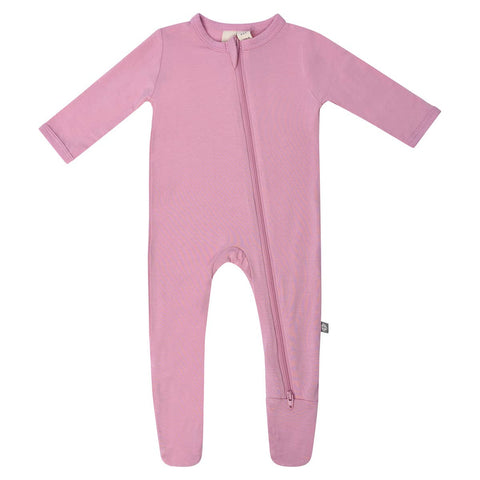 Kyte Baby Zipper Footie in Dusk - This Little Piggy