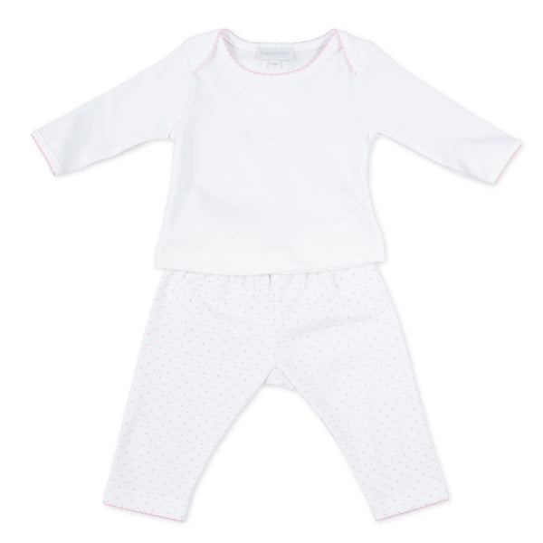 Mini Dot Essentials Pant Set