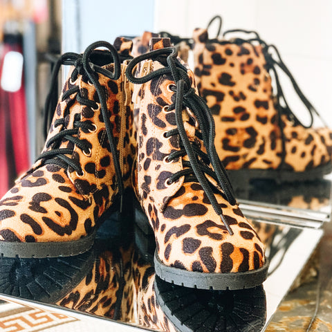 Leopard Boot - This Little Piggy