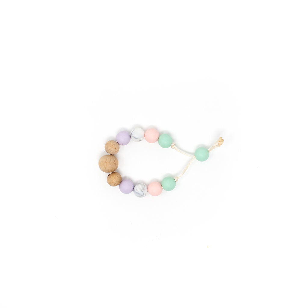 Michelle Tension Bracelet - Lavender Fog