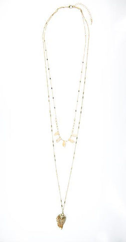 Multi Strand Shell Necklace