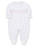 Hand Smocked Premier CLB Summer Footie