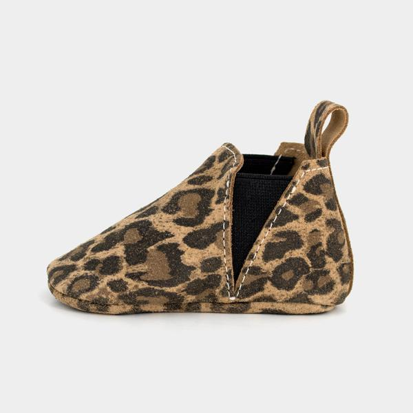 FRESHLY PICKED | MOCCASINS - LEOPARD CHELSEA BOOT