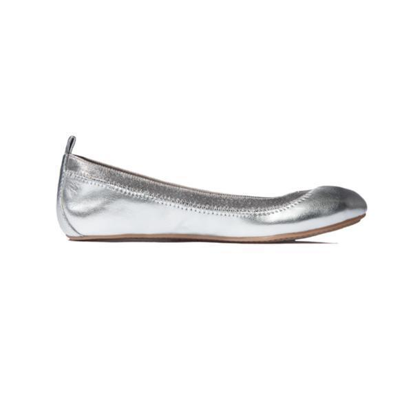 Yosi Samra- Miss Samara Silver Metallic Ballet Flat - This Little Piggy