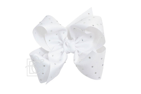 Large Rhinestone Bow