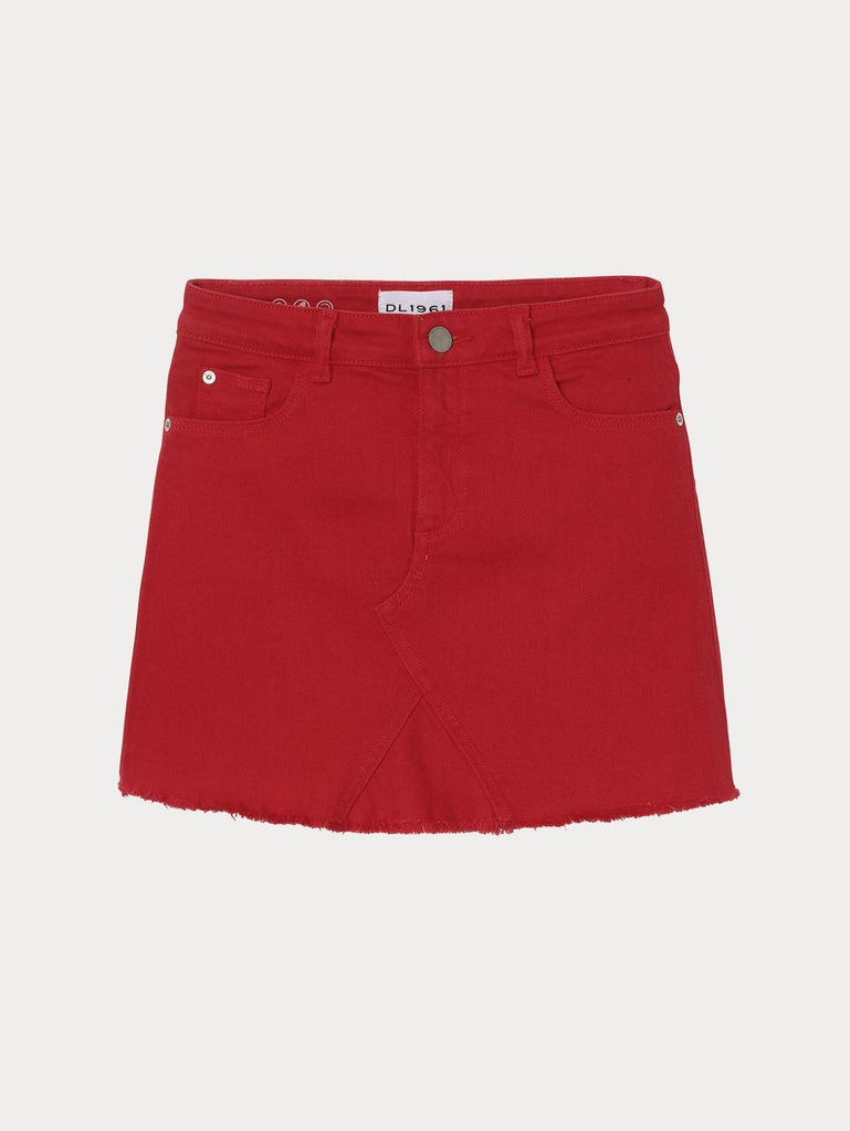 DL1961 - TODDLER JENNY SKIRT - VERY CHERRY - This Little Piggy