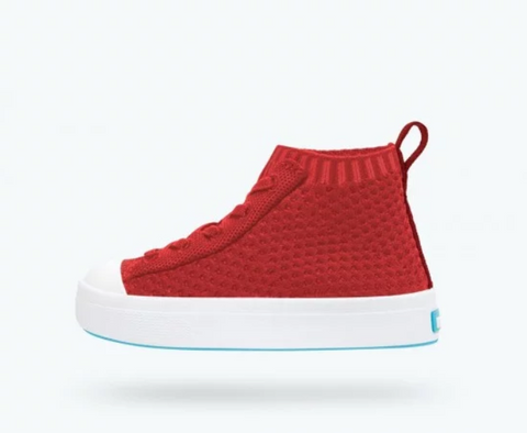 NATIVE-JEFFERSON 2.0 HIGH - TORCH RED - This Little Piggy