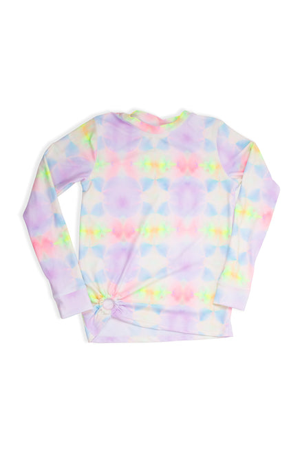 Rashguard with Ring - Multi Tie Dye