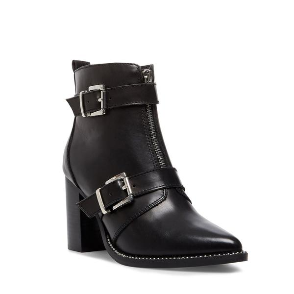 Halle Leather Boot - Black