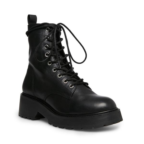 Tornado Black Leather Boot