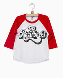 Arkansas Razorbacks 70's Baseball Tee